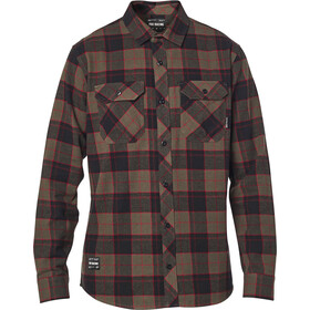 Fox Traildust 2.0 LS Flannel Top Men, dirt